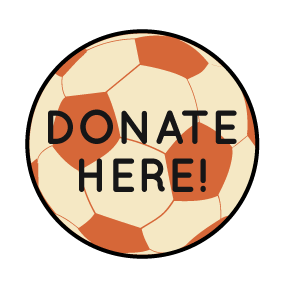 Donate Here Soccer Ball